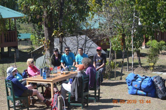 Celebration at Kalsee Eco-lodge