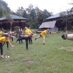 Yoga class at Kalsee Eco-lodge