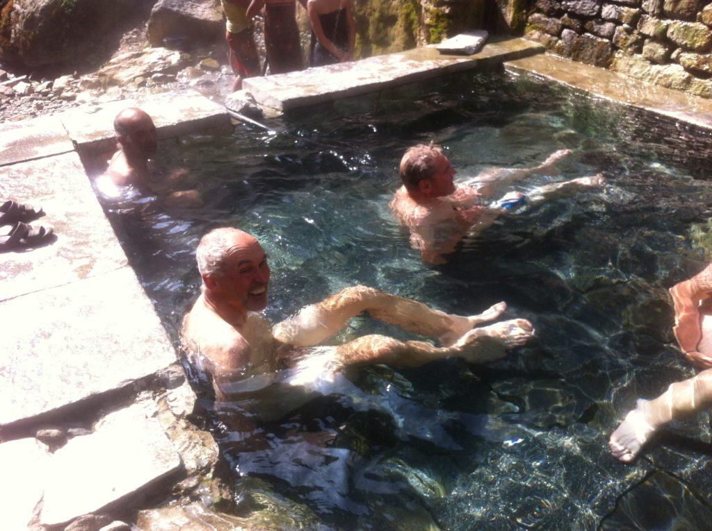 Hot spring trip Jhinuwa